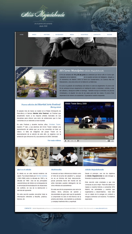web Aikido Majadahonda 1