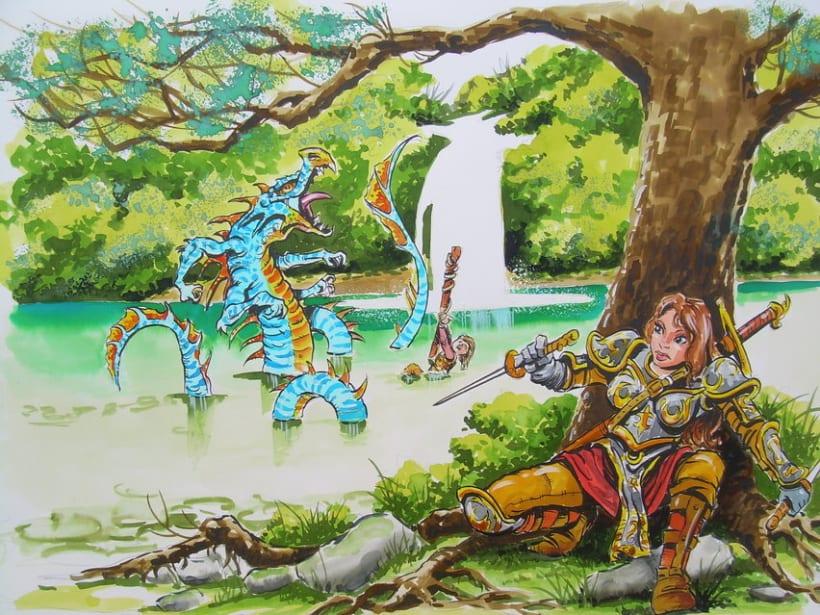 Ilustraciones Fantasticas 4