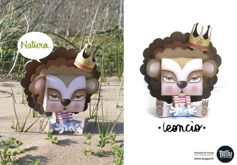 ·Leoncio· Paper Toy 1