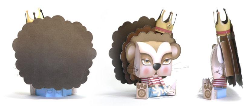 ·Leoncio· Paper Toy 2