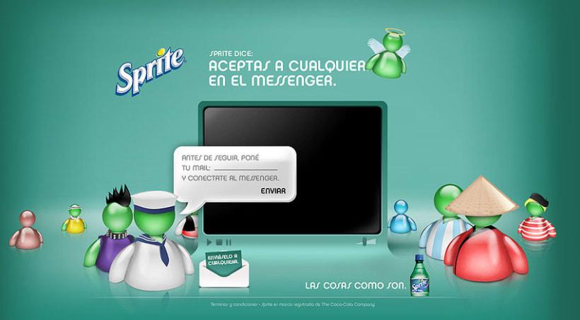 Sprite - Aceptas a Cualquiera en el Messenger 4