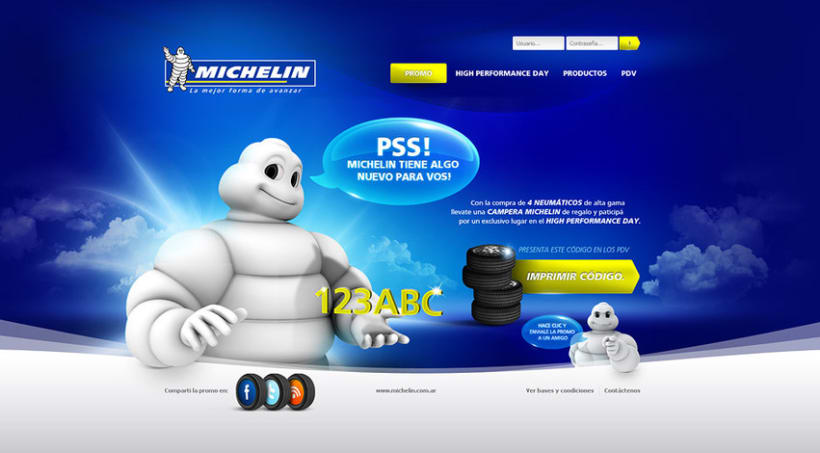Michelin - Hot Site 2