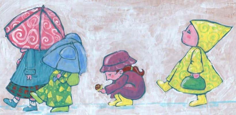 Personajes sobre cartón II 4