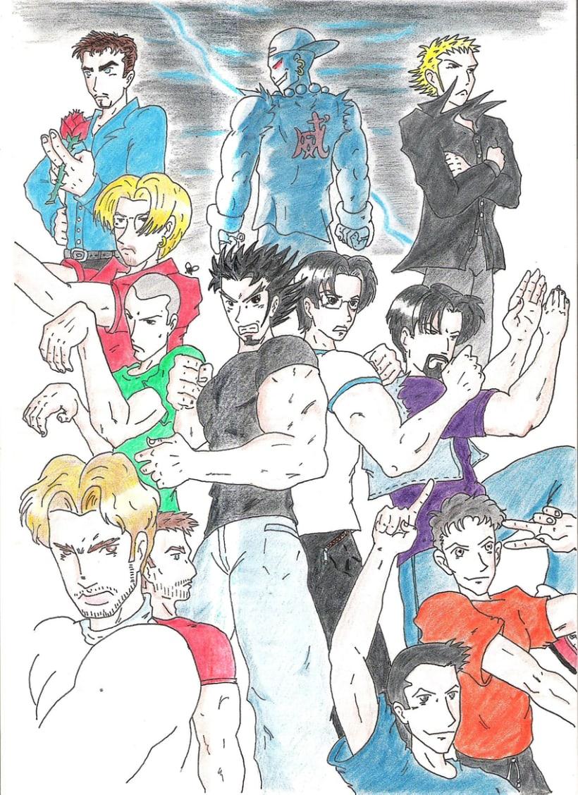 Dibujos antiguos 1