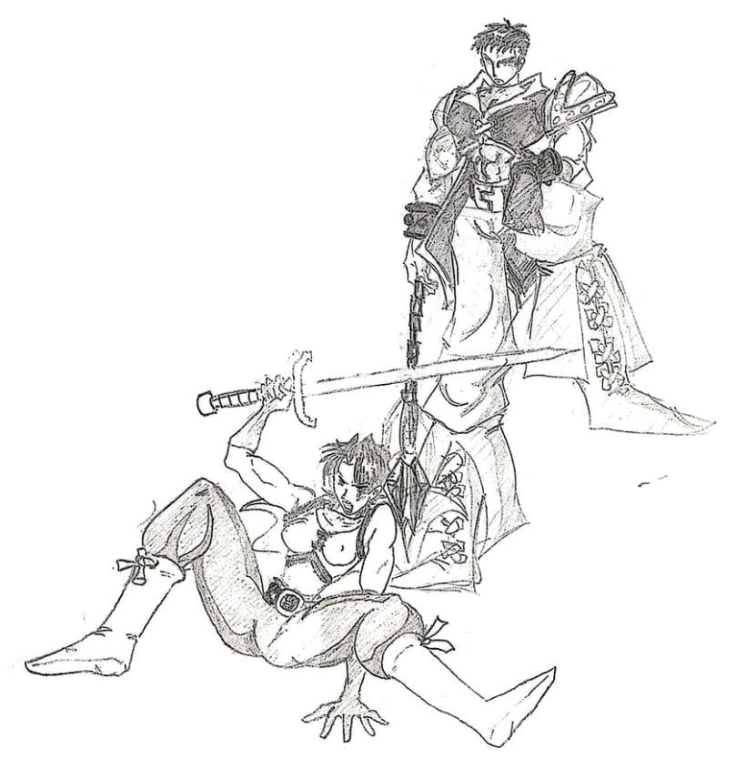 Dibujos antiguos 4