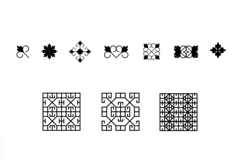 Viñetas tipográficas 3