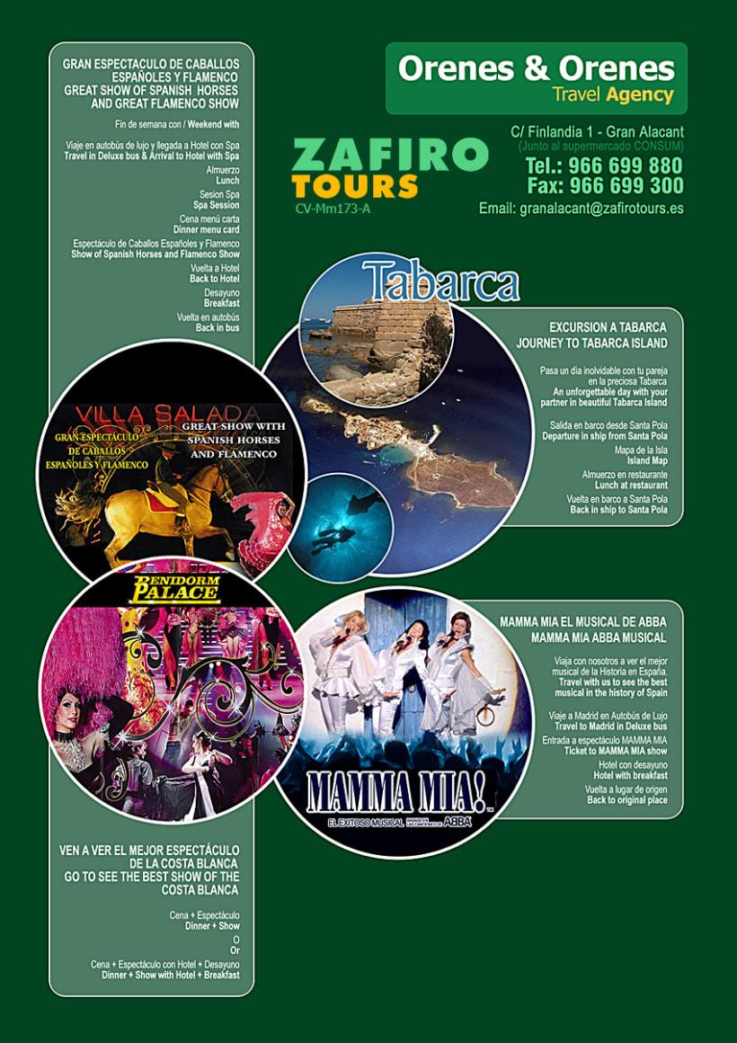 Publicidad Franquicia Zafiro Tours 1