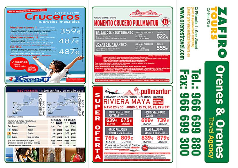 Publicidad Franquicia Zafiro Tours 5