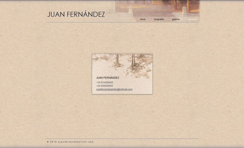 Web Juan Fernández  4