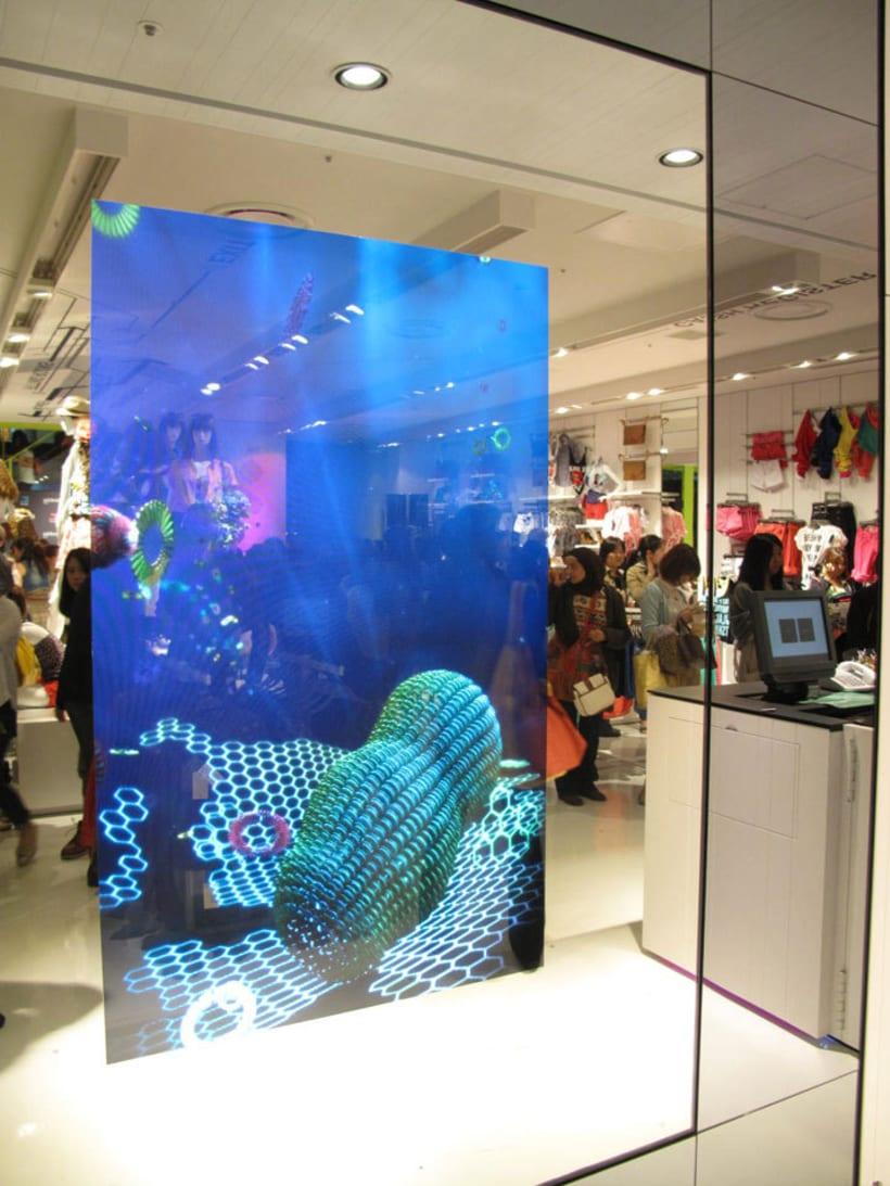 Shibuya shop installation (Tokyo) 11