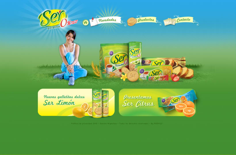 Website Ser Galletitas 2