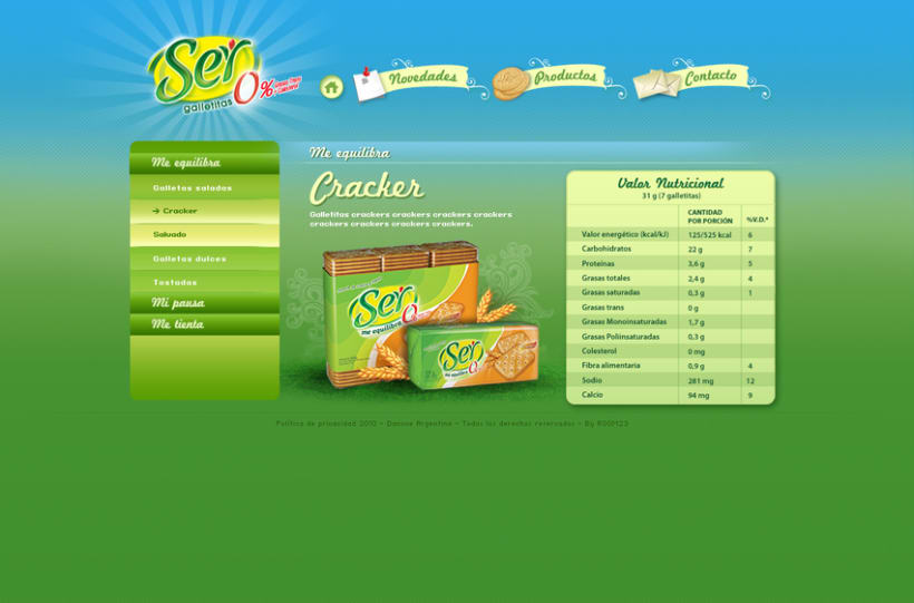 Website Ser Galletitas 1