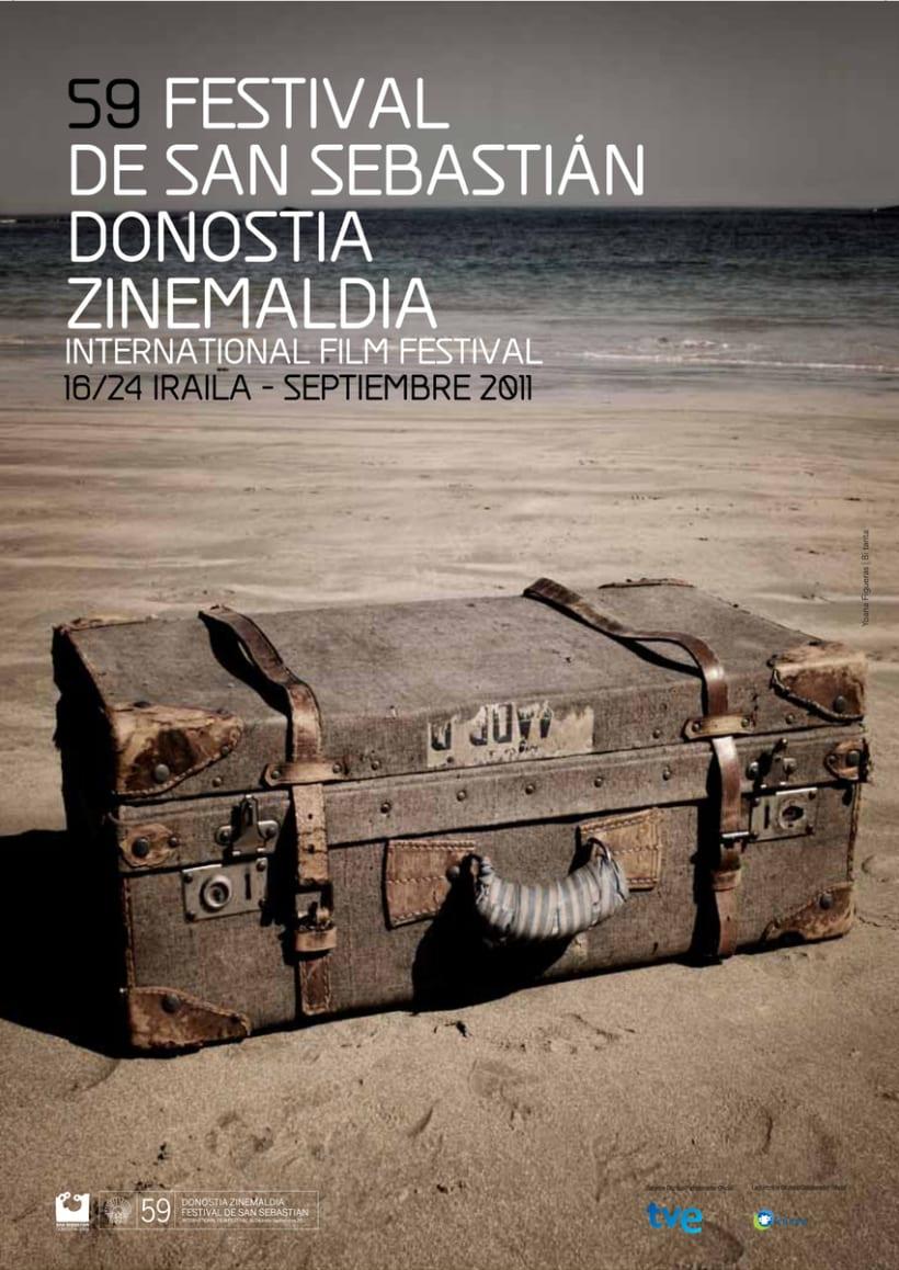 carteles ganadores del Festival de Cine de San Sebastian 1