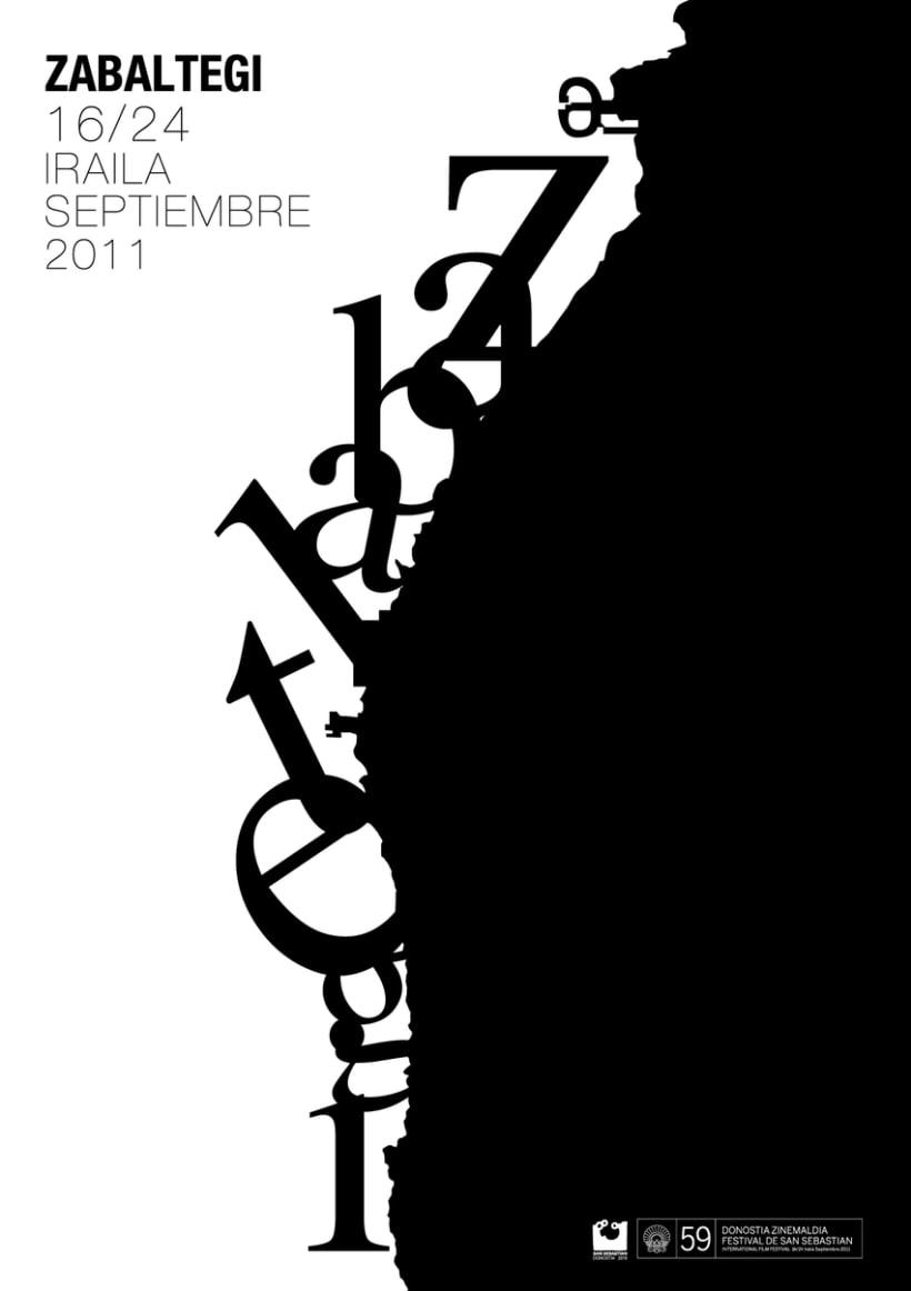 carteles ganadores del Festival de Cine de San Sebastian 3