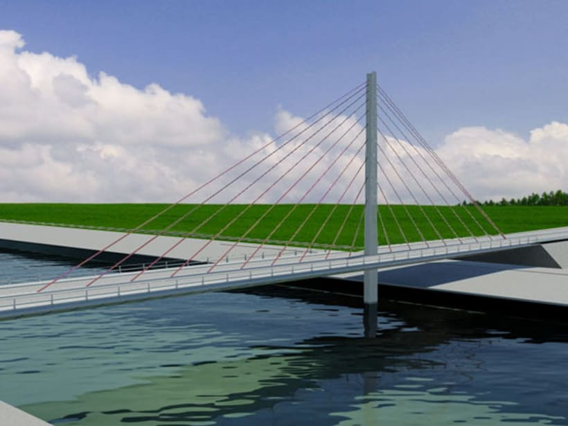 Puente atirantado 5