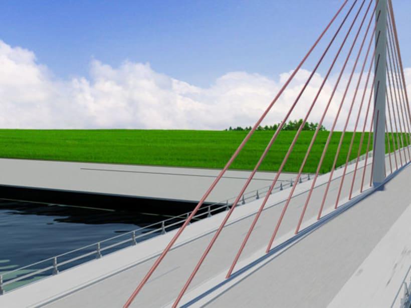 Puente atirantado 4