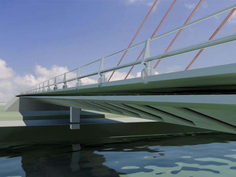 Puente atirantado 3