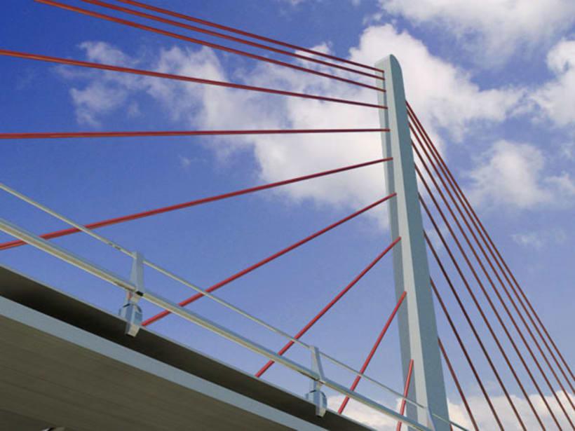 Puente atirantado 1