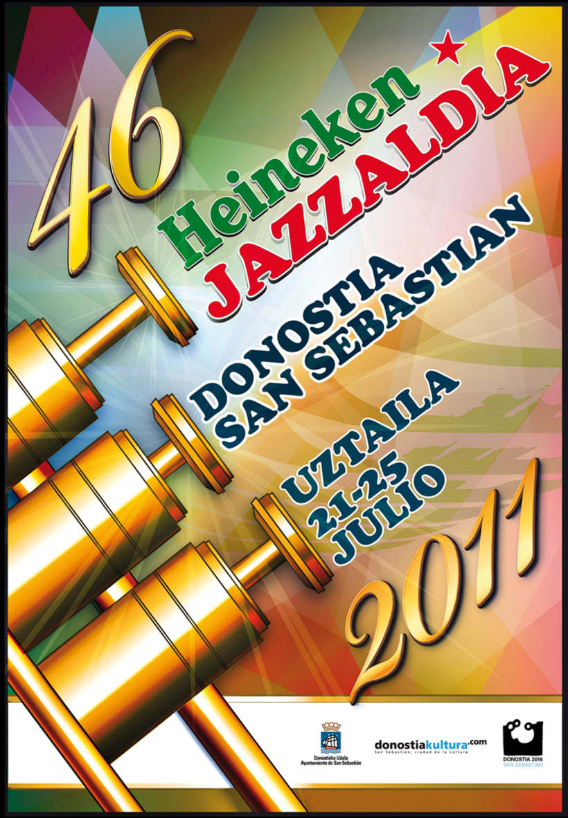 Cartel Concurso Jazzaldia Heineken 2