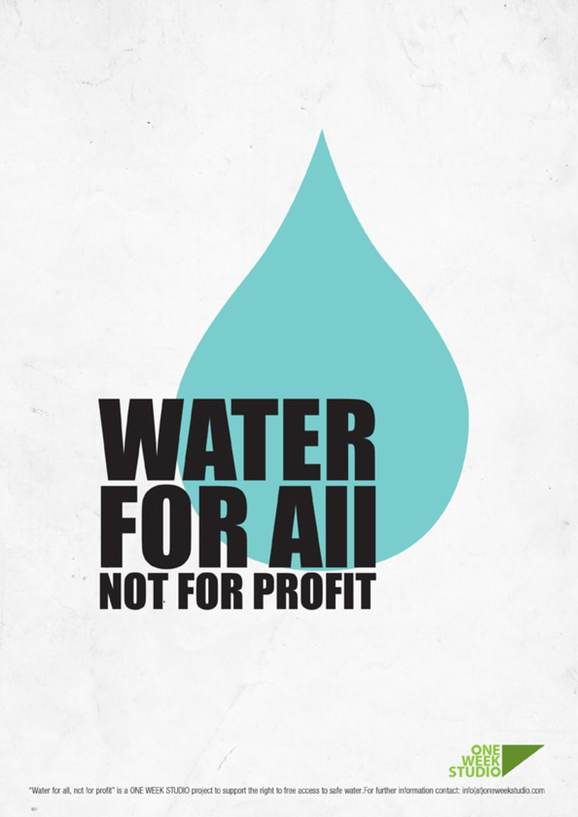 Water for all, not for profit 2