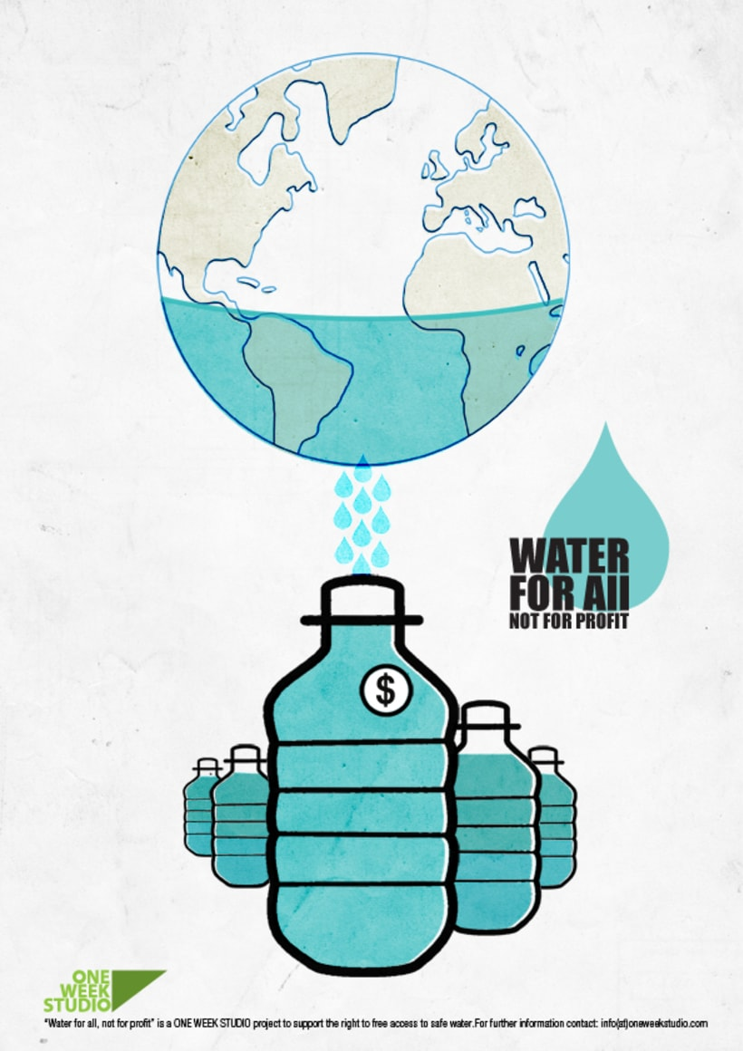 Water for all, not for profit 3