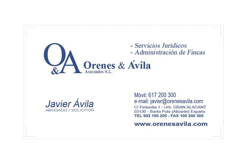 Imagen Corporativa Administración de fincas: Orenes & Avila 4
