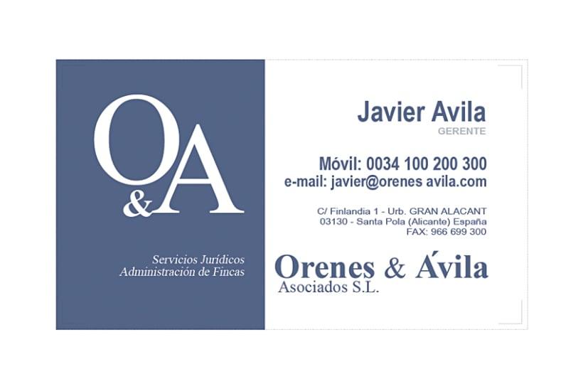 Imagen Corporativa Administración de fincas: Orenes & Avila 5