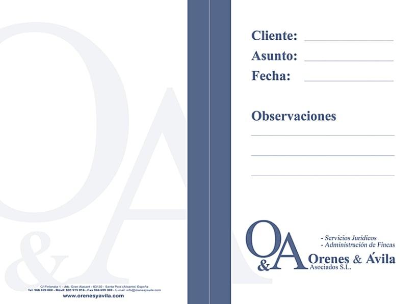 Imagen Corporativa Administración de fincas: Orenes & Avila 8