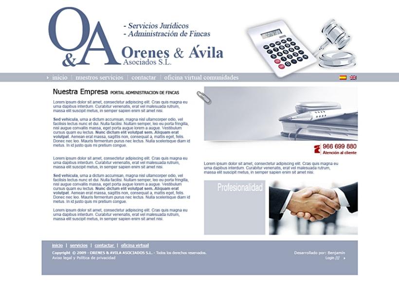 Imagen Corporativa Administración de fincas: Orenes & Avila 10