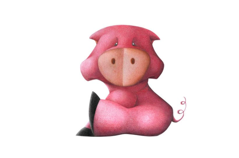 Diseño de animales con lapices de colores 3
