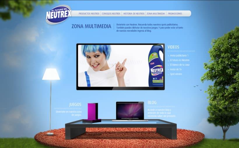 Propuesta Web - Neutrex 8