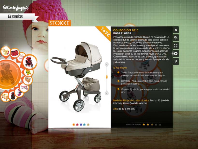 MockUp aplicación Silverlight El Corte Ingles 8