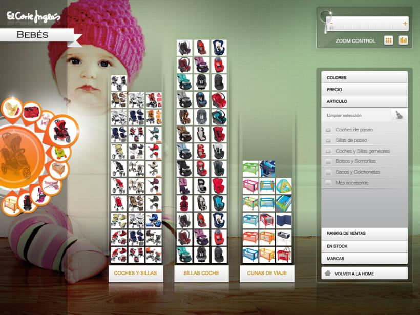 MockUp aplicación Silverlight El Corte Ingles 9