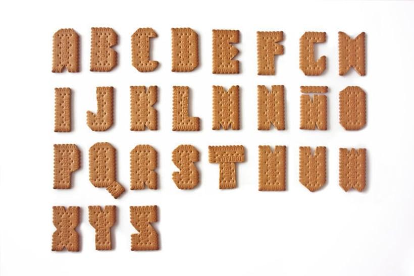 Tipografía de galleta 1