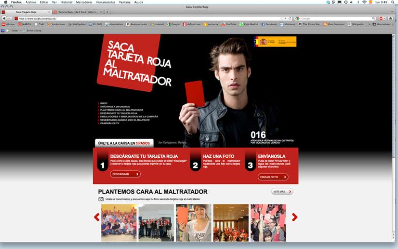Tarjeta Roja / Red Card 8