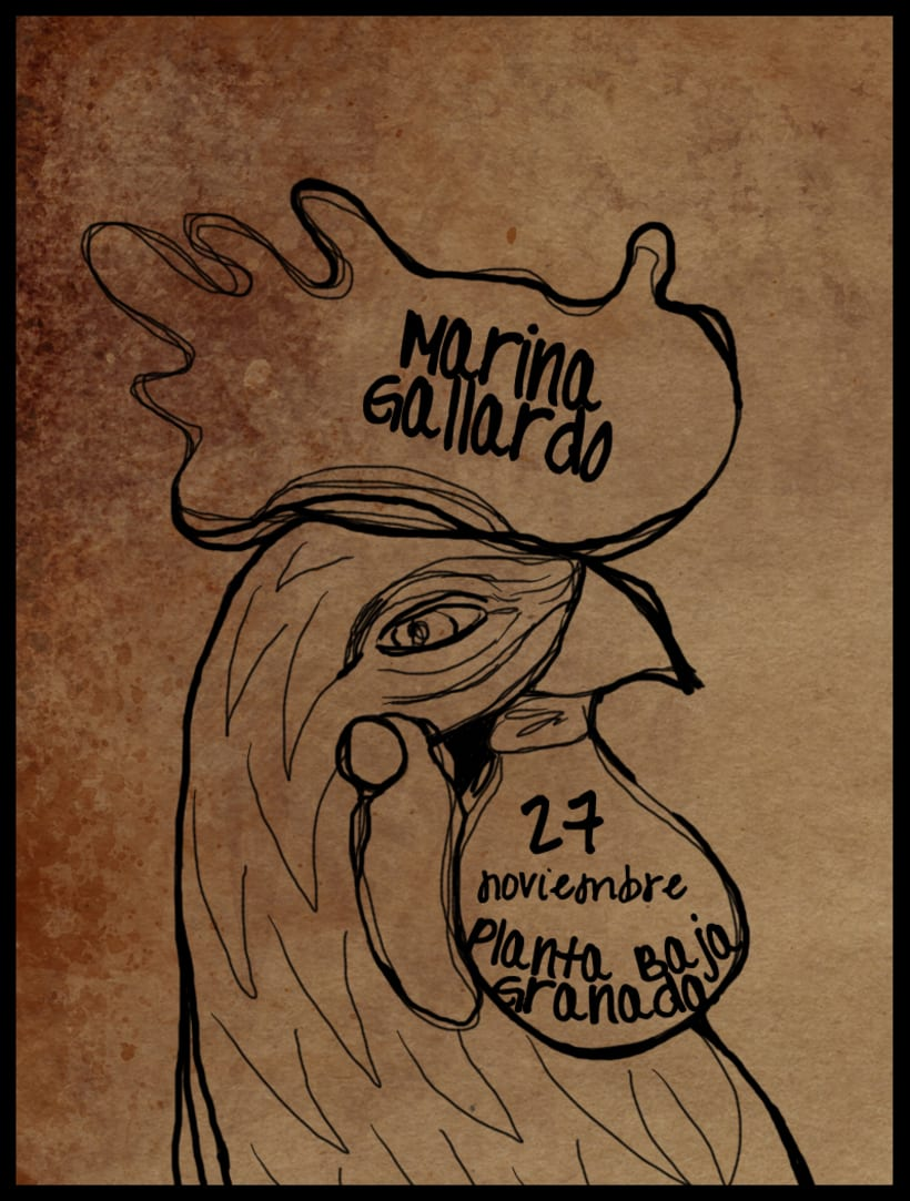 Cartel Gallo 1