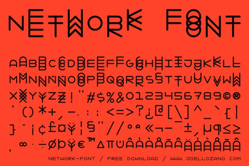Network Font 3