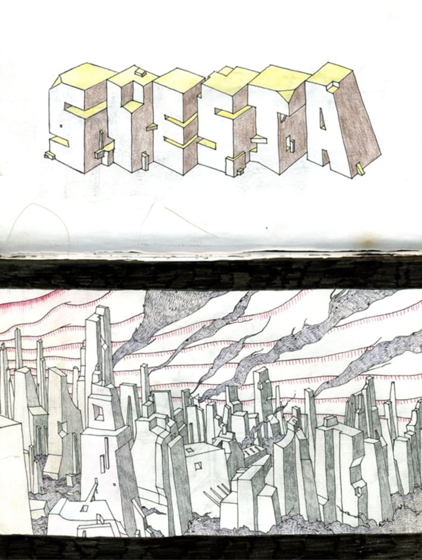 Sketch - Boceto 8