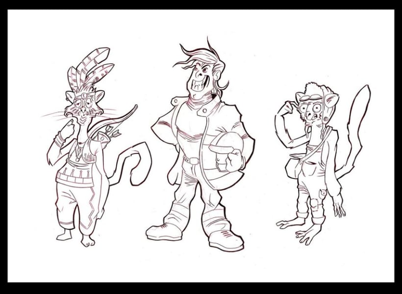 Creación de personaje (grafito) 10
