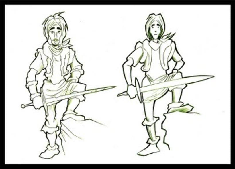 Creación de personaje (grafito) 8