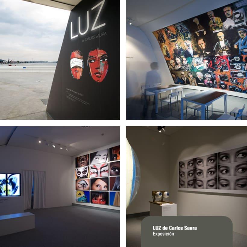 Exposición LUZ de Carlos Saura 1