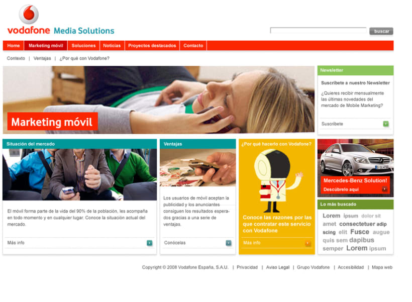 VODAFONE media solutions 3