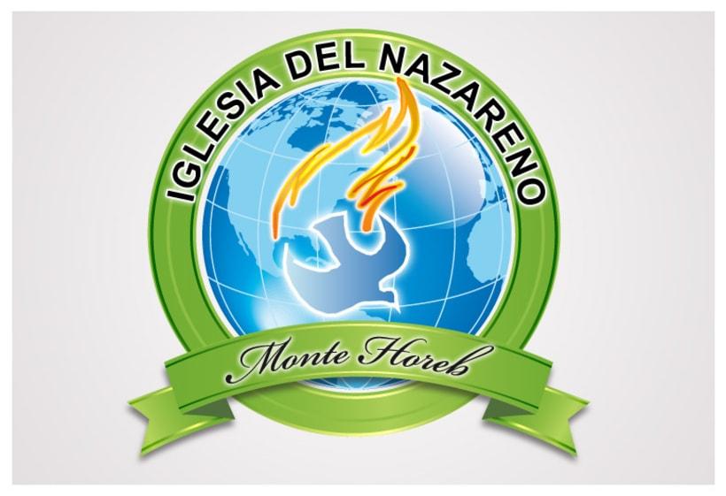 Logo: Iglesia del Nazareno Monte Horeb 2