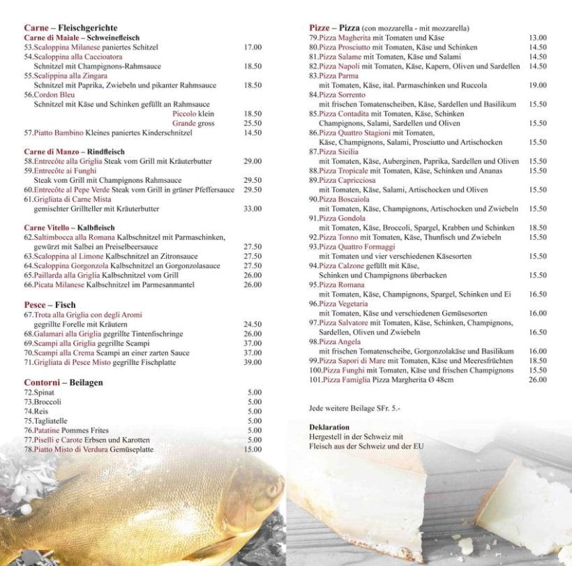 Restaurante Italiano Menu Men Restaurante 7