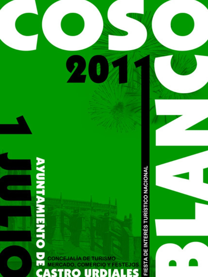 Propuesta cartel COSO BLANCO 2011 2