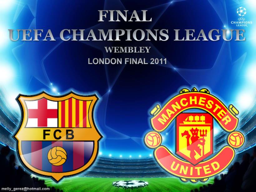 Barcelona vs Manchester la gran Final de la Uefa Champions League Wembley 2011 1