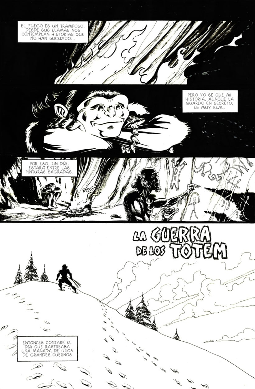 La Guerra de los Totem - extraído de los Archivos de URO 1