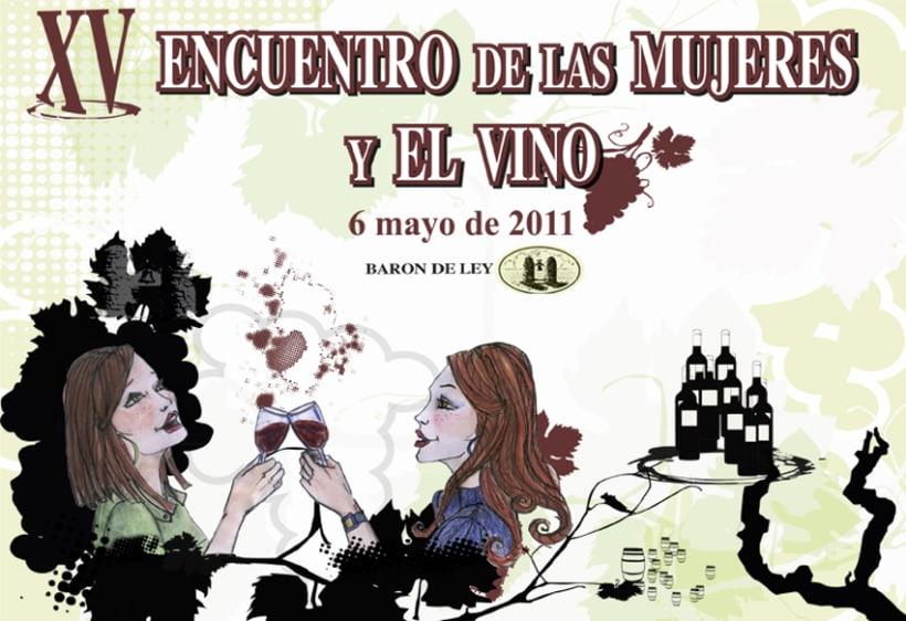 Ilustración XV encuentro de las mujeres y el vino 1