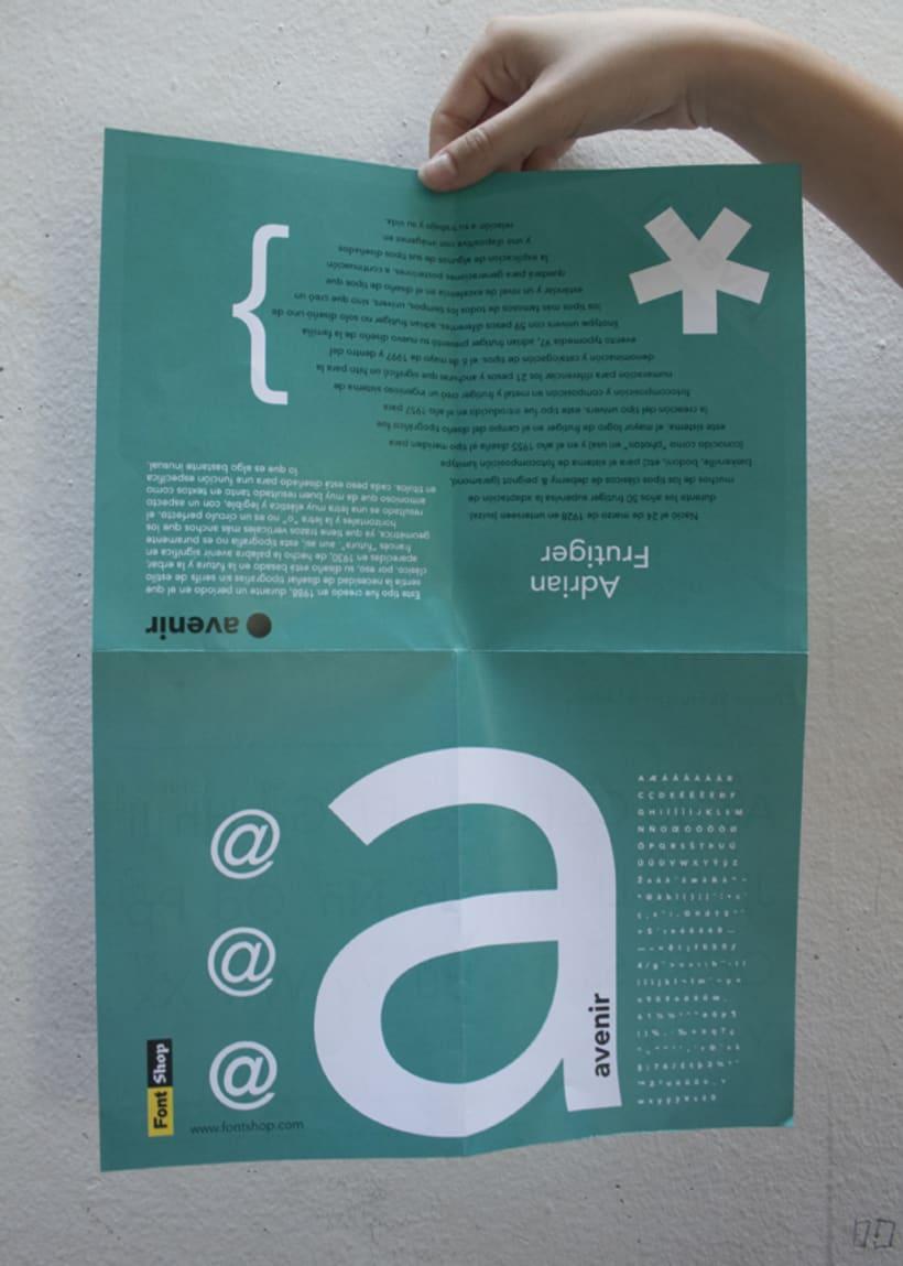 Espécimen de Avenir // tipografía de Adrian Frutiger 7