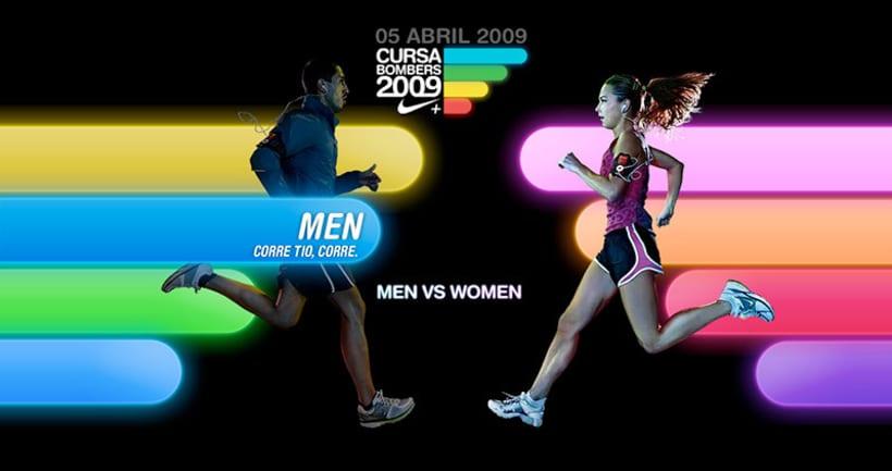 Nike Cursa Bombers 2009 1